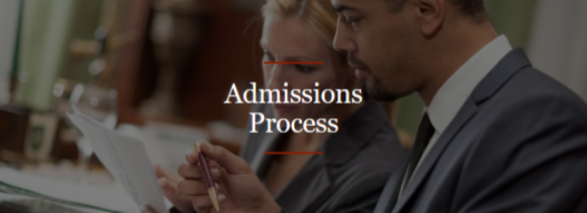 Admissions Process Image Button